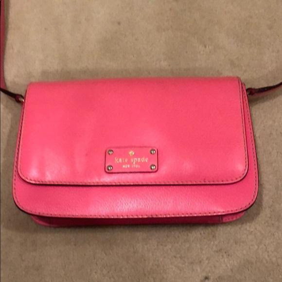 kate spade Handbags - Kate Spade Pink Cross Body Bag
